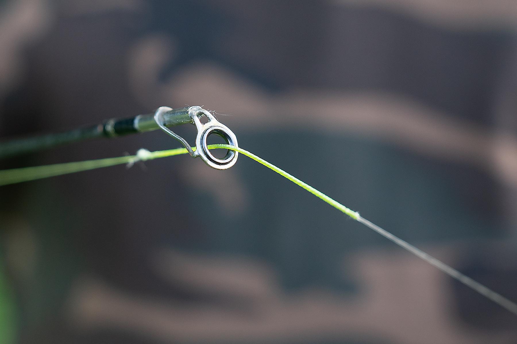 geflochtene mit monofiler verbinden - Der 100% Knoten
